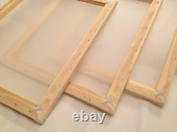 10 x Large A3 Value Wooden Silk Screen Printing Frames with 43T mesh Bulk Deal