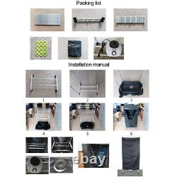 1200W Silk Screen Print Drying Cabinet Assembly Curing Screen Tool Frame Dryer