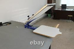 Free Shipping 1 Color 1 Station Silk Screen Printing Fix On Table T-shirt Pallet