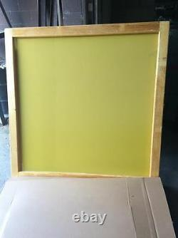 Silk Screen Frame- 65x65 -230 yellow mesh for Sign Makers
