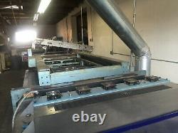 Silk Screen Printing Presses and Ultra Violet Curing Systems. Large Format