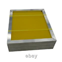 USA 6Pack 18 x 20 Aluminum Silk Screen Printing Frame With 230 Yellow Mesh