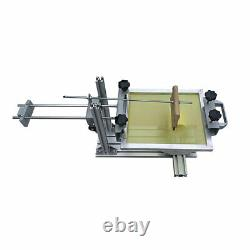 USA-Manual Cylinder Silk Screen Printing Machine with 10 Squeegee