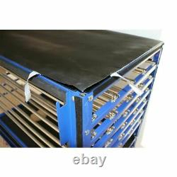 US STOCK 2400W Silk Screen Printing Drying Cabinet 6 Layer Warming Exposure Unit