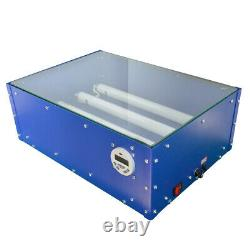 UV Exposure Unit 18x12Screen Printing Machine Silk Screen Led Tube Plate Maker